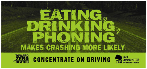Concentrate on driving